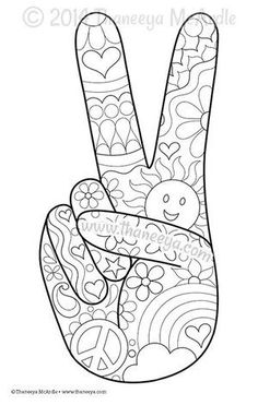 Color Fun Coloring Page Blank by