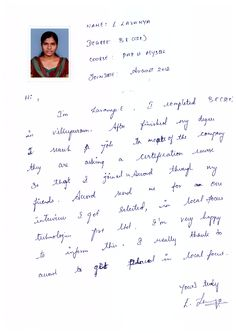 Hi, I'm Lavanya.E, I Joined in Accord through my friends.  http://www.accordsoft.co.in/php-training-in-chennai.html