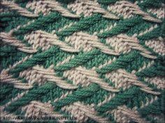 Zig-zag Jacquard.  http://knittingunlimited.blogspot.com
