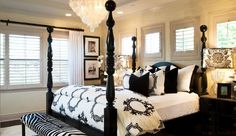 Delorme Designs: Barclay Butera...like the small windows above the bed