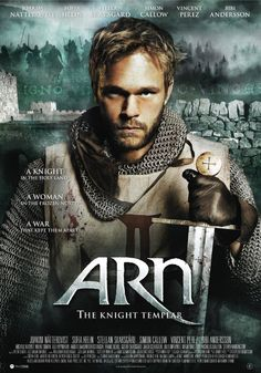 """Arn is one of my favorites, because of how they used the languages of the land throughout the movie, causing the story to resonated with authenticity. Instead of everyone speaking """"my language"""" I felt the geographic and ethnic shift as the words flowed from Latin to Swedish, to Arabic, back to Swedish!"""