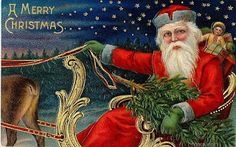Christmas vintage postcards .: