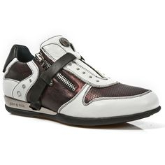 Brown & White Leather Hybrid Dress Shoes *May take up to 45 - 50 Days to Receive*-Quality Brown & White leather dress shoes. Easy comfortable zip and velcro fastener. Metal on the heels. Available in all Unisex Sizes. White Leather, Dress Shoes, Unisex, Zip, Rock, Metal, Heels, Sneakers, Batu