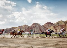 Horse riding competitions in Iran's East Azarbaijan Province with various breeds in contention. www.ifilmtv.com/english/