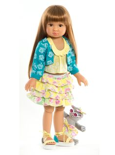 Annika, a new Kidz 'n' Cats play doll for 2013! Available at the end of February from Petalina.co.uk