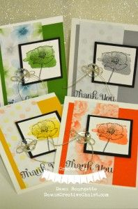 Stylin Stampin March Spring Fling, Dawn, Stampin' Up!