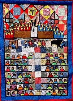 Chris Clark Quilt Outsider Art, Black History Month, Types Of Art, Love Art, Textures Patterns, Contemporary Art, The Outsiders, Sculptures, Quilts