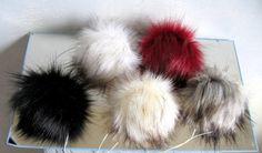 27.9 Large Faux Fur Pom Pom PomPom Handmade Craft