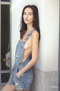 Fashion model Lucie Hruba photographed by Nicola Casini.