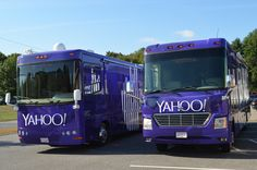 Completed yahoo Project #builtbyaxle  #yahoo #promotionaltours #customrv #interactiveexperience