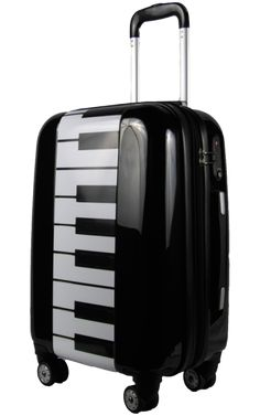 Piano keyboard suitcase