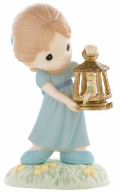 "Amazon.com - Precious Moments Disney Collection ""The Magic of Friendship Shines Through"" Figurine"