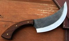 BEAUTIFUL CUSTOM HAND FORGED CHEF BUTCHER GREAT KNIFE