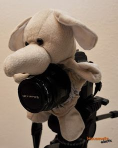 Housewife Eclectic: Camera Lens Pal- Making Kids Smile- A DIY tutorial.