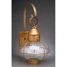 Northeast Lantern Onion 2 Light Outdoor Wall Lantern Finish: