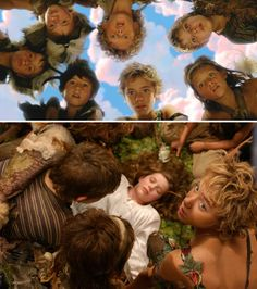 Peter Pan (2003) Starring: The Lost Boys; Patrick Gooch  Lachlan Gooch as the Twins, George MacKay as Curly, Rupert Simonian as Tootles, Harry Eden as Nibs, Jeremy Sumpter as Peter Pan, Theodore Chester as Slightly, and Rachel Hurd-Wood as Wendy. They all shoot an arrow and Tootles' arrow hits Wendy, sending her tumbling to the forest floor. The gang cheers and looks for the bird they have shot. When they reach her, the boys realize that it was not a bird they shot, but a girl.