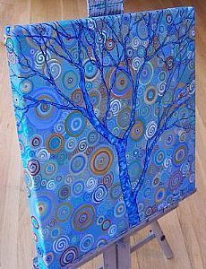 """Potential Tree"" ~ Acrylic Painting by Dana Marie ~ www.danamarieart.etsy.com"