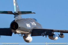 Dassault Super Etendard de la Aviación Naval de Argentina. Las fotos corresponden a Sergio García Pedroche.