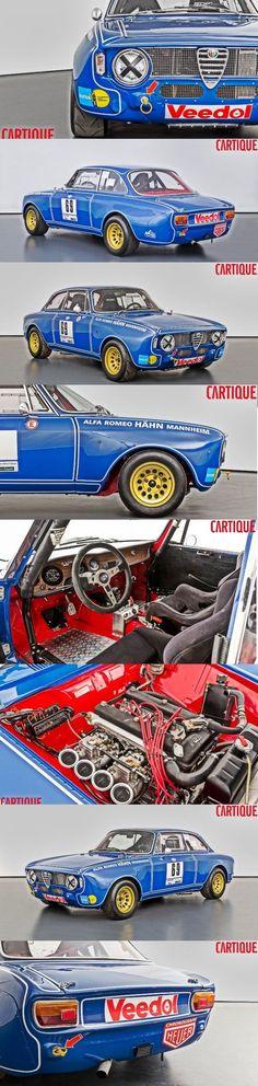 1969 Alfa Romeo Giulia - Sprint GTA 1600 Corsa