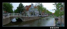 Na kříži vodních cest - Delft, Jižní Holandsko