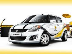 2015 Maruti Suzuki Swift Windsong edition with yellow decals
