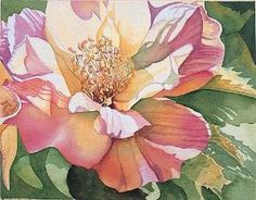 How to paint watercolor flowers by allisonn