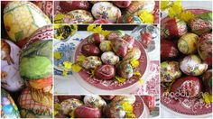"""Over-easy Elegant Easter Eggs"" diy ... http://www.miycreations.com/miy-easter-egg-craft.html#"