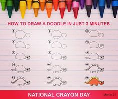National Crayon Day Idea For Social Media Post Latest Instagram, Instagram Tips, Crayon Days, Dash Image, Dp For Whatsapp, Pics For Dp, You Doodle, Sweet Pic, Wishes Images