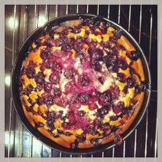 : Blueberry & Yoghurt Cake