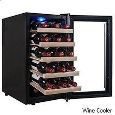 Wine Cooler - Firebird New 18-bottle Thermoelectric Quiet Operation Wine Cooler Cellar Chiller Refrigerator