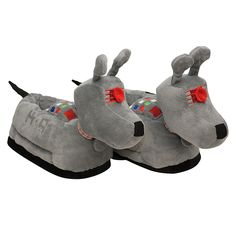 Doctor Who K-9 slippers: some more merchandise for all you whovians out there!