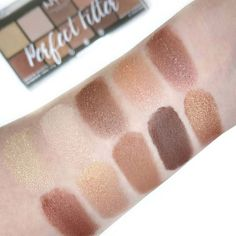 NYX Cosmetics Perfect Filter Palette in Golden Hour