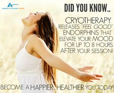 Become a happier, healthier you today with Whole Body Cryotherapy!