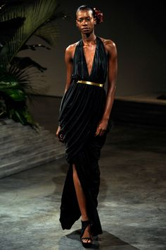 Sigail Currie at Halston S/S 2011