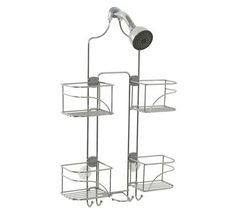 5. Zenna Home 7446SS Showerhead Caddy