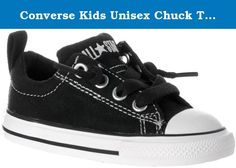 Converse Kids Unisex Chuck Taylor? All Star? Street Ox (Infant/Toddler) Black/White 8 Toddler M. Hit the street in sick style! Clean canvas or suede upper for a classic look. Lace closure with attached tongue for a slip-on effect. Textile lining keeps toes comfy. Vulcanized construction with midsole striping. Iconic rubber shell toe. Durable rubber outsole offers light traction. Measurements Weight 5 oz Product measurements were taken using size 8 Toddler, width M. Please note that...