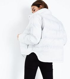 Discover the latest trends at New Look. Fashion Outfits, Fashion Ideas, Women's Fashion, Puffer Jackets, Signature Style, New Look, Winter Outfits, Women Wear, Legging Outfits