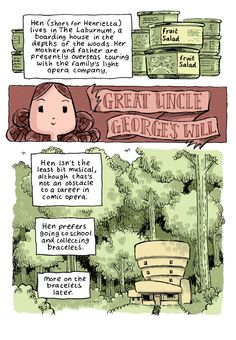 Great Uncle George's Will by Andi Watson   Tor.com