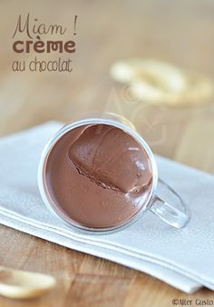 Small chocolate creams – Quick version – – Famous Last Words Appetizer Recipes, Dessert Recipes, Salsa Dulce, Fiber Foods, Football Food, Chocolate Cream, Food Items, Easy Desserts, New Recipes