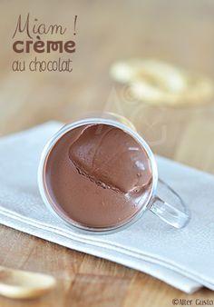 Petites crèmes au chocolat - Version rapide - Alter Gusto