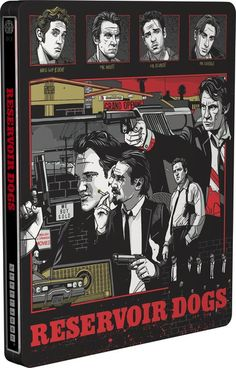 Reservoir Dogs - Mondo X Steelbook - UK Exclusive Limited Edition Steelbook #QuentinTarantino #Steelbook #ReservoirDogs