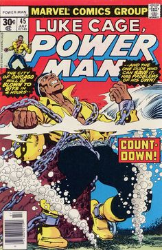 For sale luke cage power man 45 marvel comics jim starlin artwork jack davis comic book emorys memories. Marvel Comics, Horror Comics, Marvel Comic Books, Comic Book Characters, Comic Character, Comic Books Art, Comic Art, Marvel Characters, Book Cover Art