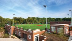 Montgomery Bell Academy | Hastings Architecture Associates | Nashville | Green Roof Soccer Field