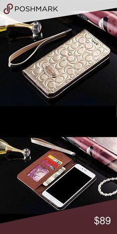 15c93c445403 Apple iPhone 7 Plus   8 Plus Leather Coach Case Apple iPhone 7 Plus   8