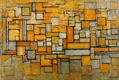 """""""Facade in Tan and Grey"""" by Piet Mondrian Piet Mondrian, Famous Artists, Painters, Facade, Abstract, Google, Modern, Image, Frames"""