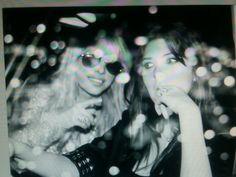 BrittGastineau and LisaGastineau rocking Tres Glam.
