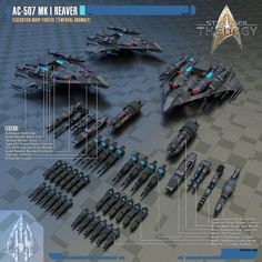 UPDATE: Remastered in 2048 x 2048 resolution. These are the space fighters the Lone-Wolves Squadron use in Star Trek: Theurgy. While they were inspired by the old Gryphon-class fighters originally ...
