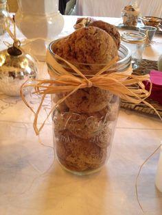 Cookies disposés dans un pot Le Parfait