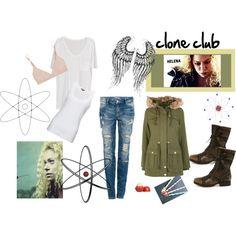 """clone club-helena"" by jckallan on Polyvore"