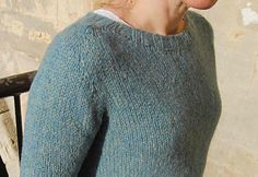 Whether you are an annual migrant or restless nomad this sweater is written for knitting and wearing on the go. Made top down from the cast on of the integral neck band and totally seamless it is knit in the round with a hybrid saddle shoulder/contiguous construction, short rows to shape the shoulders and neck and a split hem detail.